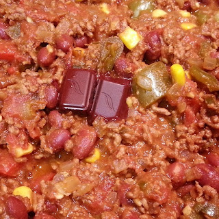 Chilli Con Carne (with Chocolate!)