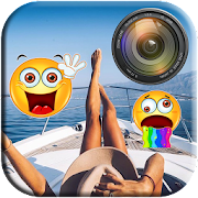 Emoji Photo Sticker Editor: Smileys & Emoji
