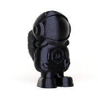 Black MH Build Series PLA Filament - 1.75mm (1kg)