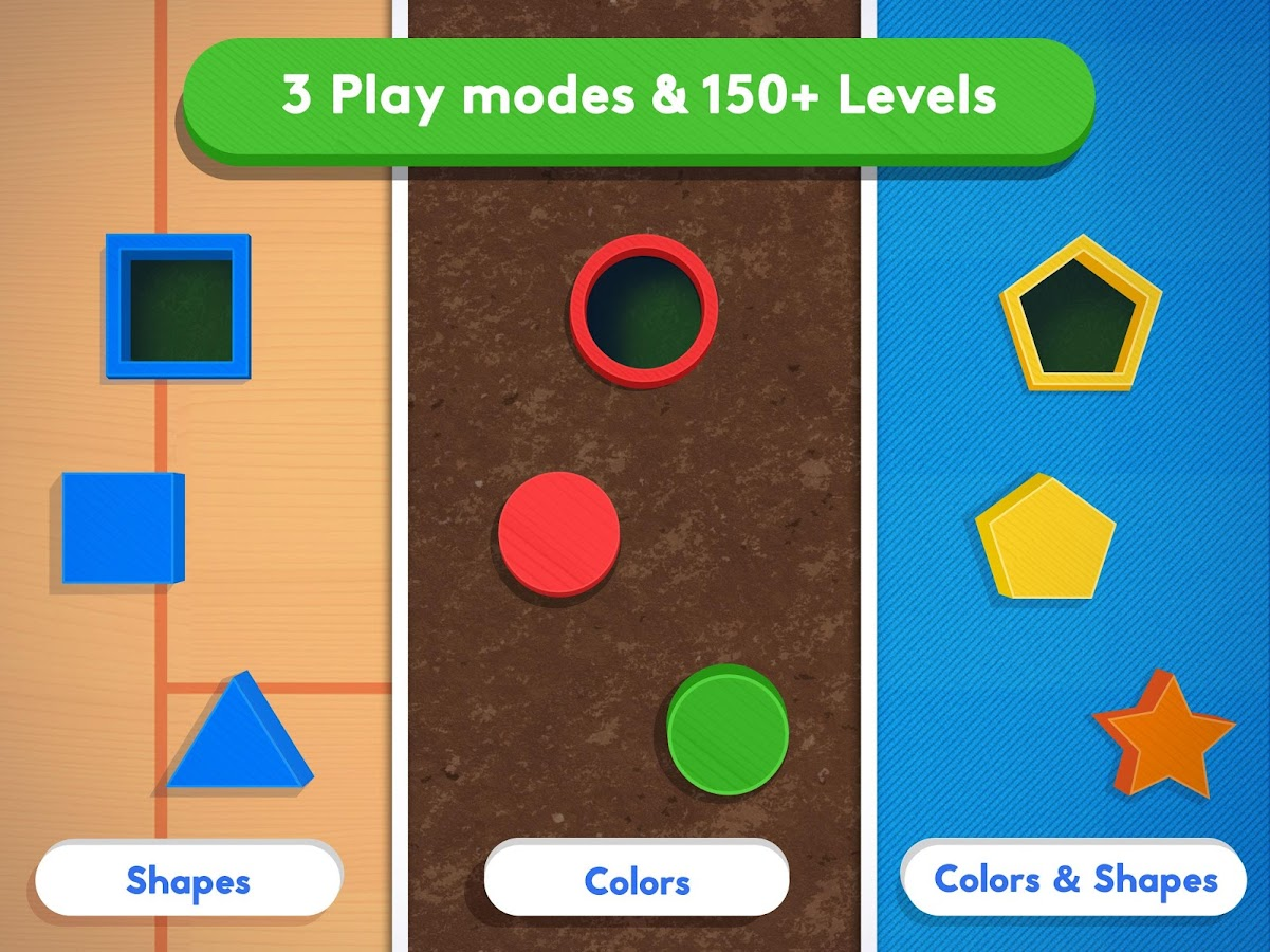 Busy Shapes & Colors- screenshot