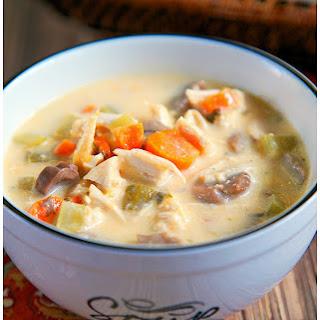 Creamy Chicken Soup.
