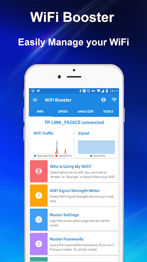 WiFi Booster - Internet Speed Test & WiFi Manager for PC