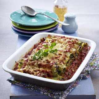 Baked Kale and Mascarpone Cannelloni.
