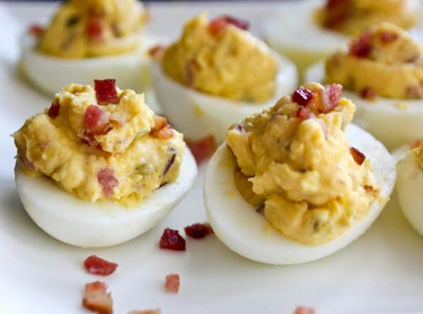 Bacon-balsamic Deviled Eggs Recipe