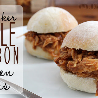 Maple Bourbon Slow Cooker Chicken Three Ingredient