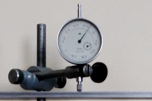 Общий вид стрелочного индикатора