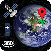 Earth Map Satellite GPS Navigation & Map Location