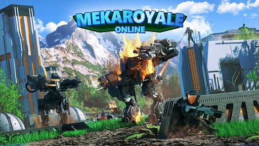 MekaRoyale Online  captures d'écran 1