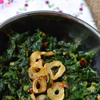 Curry Side Dish Spinach Recipes.