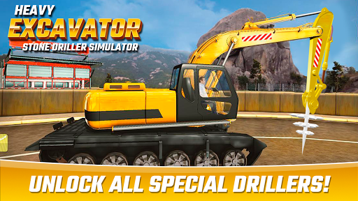 Heavy Excavator Stone Driller Simulator 1.0 screenshots 9