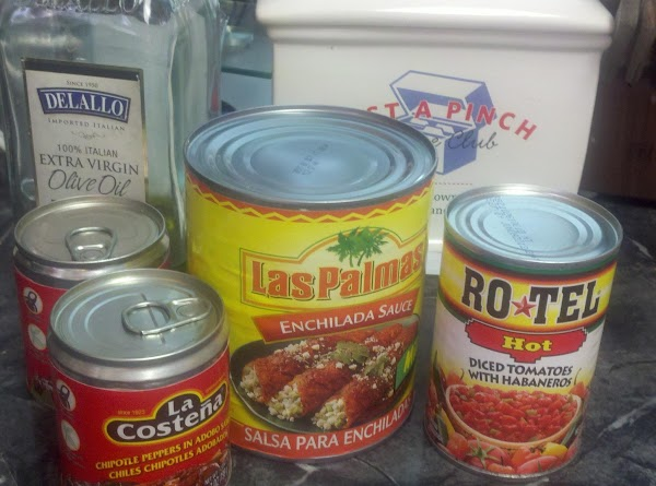 Using the right enchilada sauce is important. Look for one made with peppers, not...