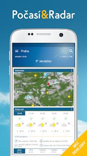 Počasí & Radar Pro: bouřky, radar, pocasi widget - náhled