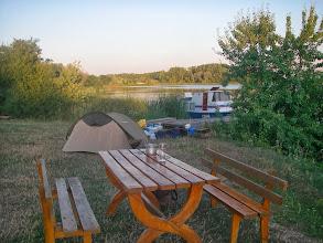 Photo: Dzisiaj biwak cywilizowany =w Murzynowie
