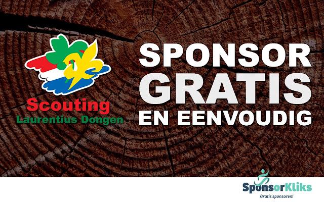 SponsorKliks Scouting Laurentius Dongen