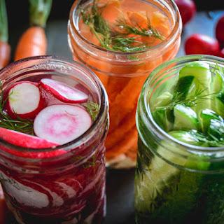 Simple Fermented Vegetables.