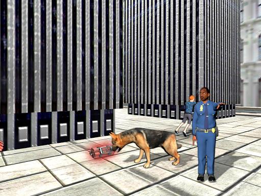 警察犬シティ犯罪者