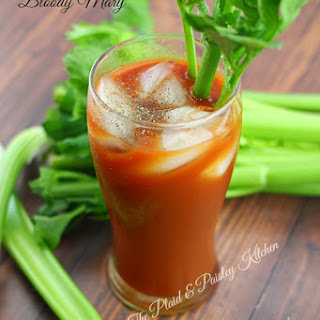 Black Pepper Bloody Mary.