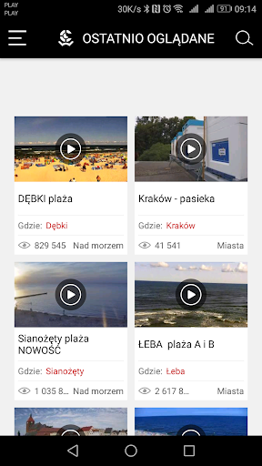 WebCamera.pl - live streaming - screenshot