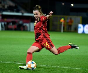 🎥 Hoger/Lager met de Red Flames in aanloop naar het EK van Rode Duivels: Davinia Vanmechelen komt heel sterk voor de dag