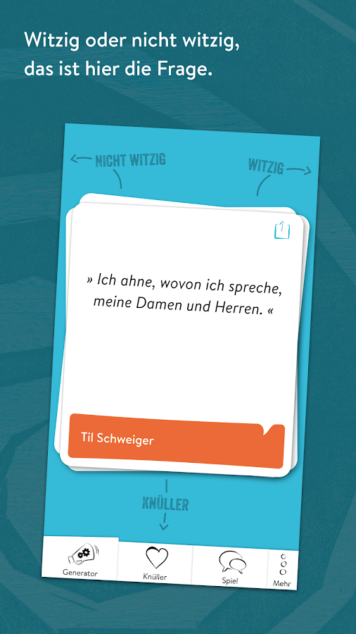 Game of Quotes - Verrückte Zitate- screenshot