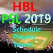 ''PSL Schedule 2019''Psl 4 Schedule,Psl4LiveScore icon