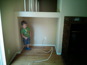 Photo: Finn in the Old House