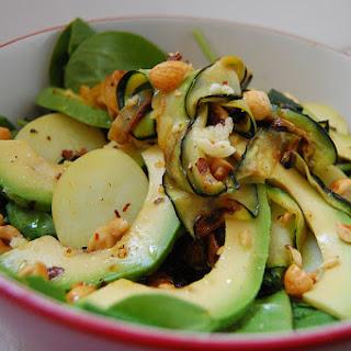 Warm, Green Salad Recipe