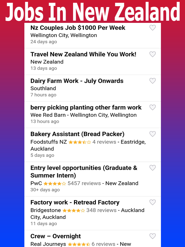 Скриншот JOBS IN NEW ZEALAND-JOBS IN AUCKLAND