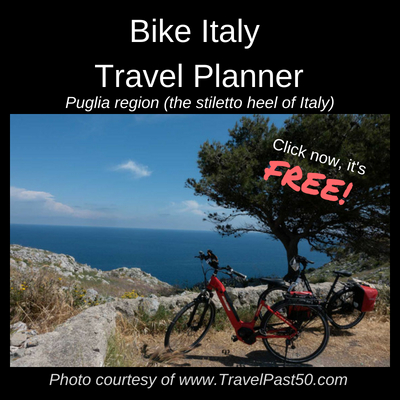 Click here for your FREE Bike Italy Puglia region Travel Planner