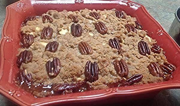 English Apple Pie W/toasted Pecans Recipe