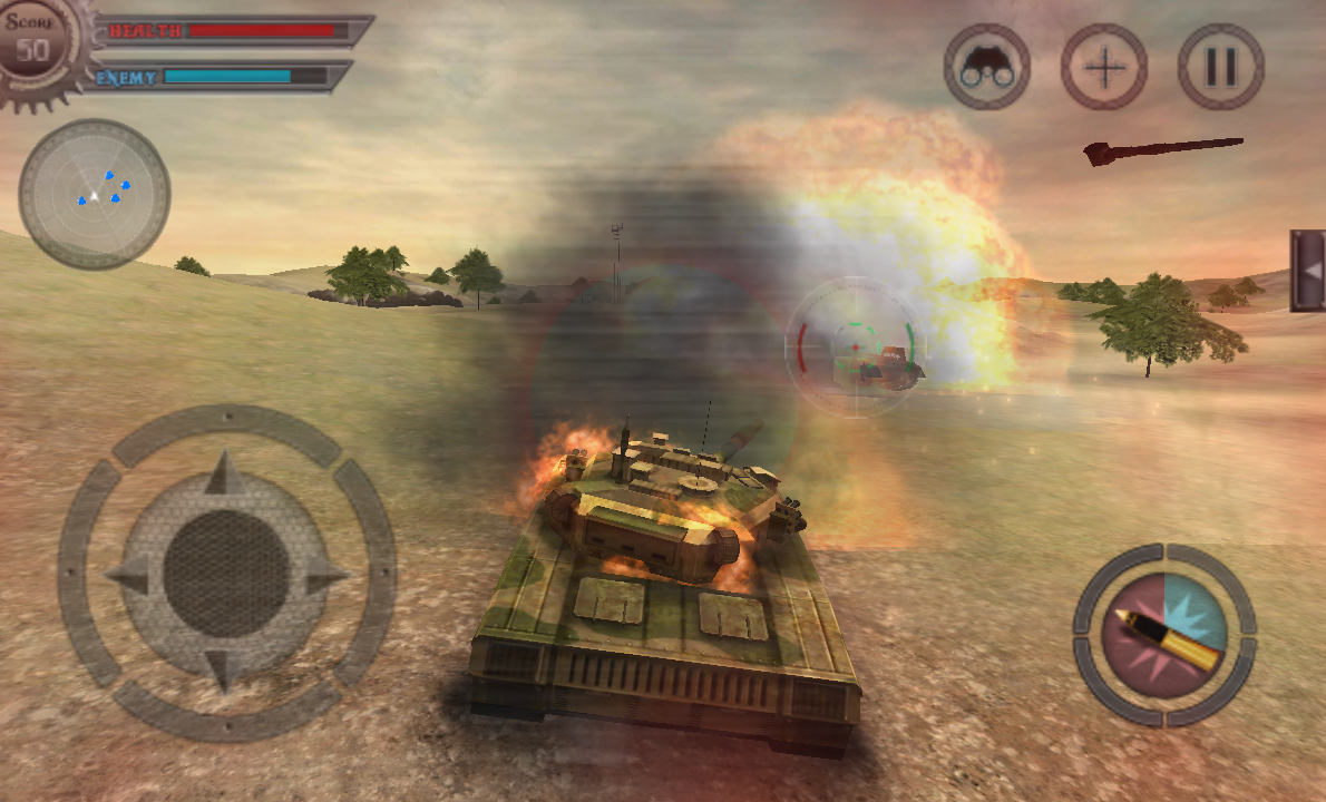 Deadly Tank Shooter War- screenshot