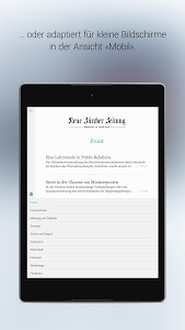 NZZ E-Paper screenshot 8