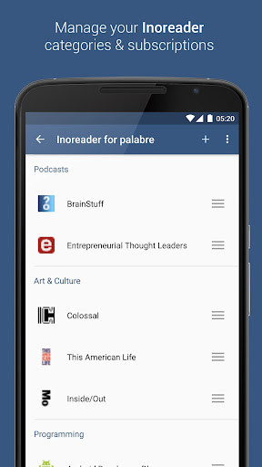 Inoreader for Palabre Apk Download Free for PC, smart TV