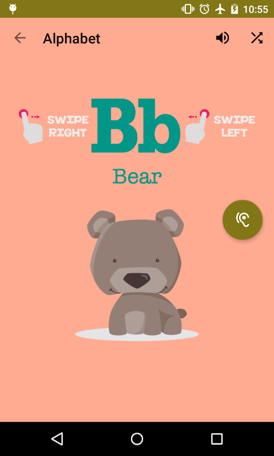 ABC Flash Cards For Kids- screenshot