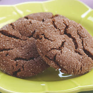 Chewy Cocoa Cookies.