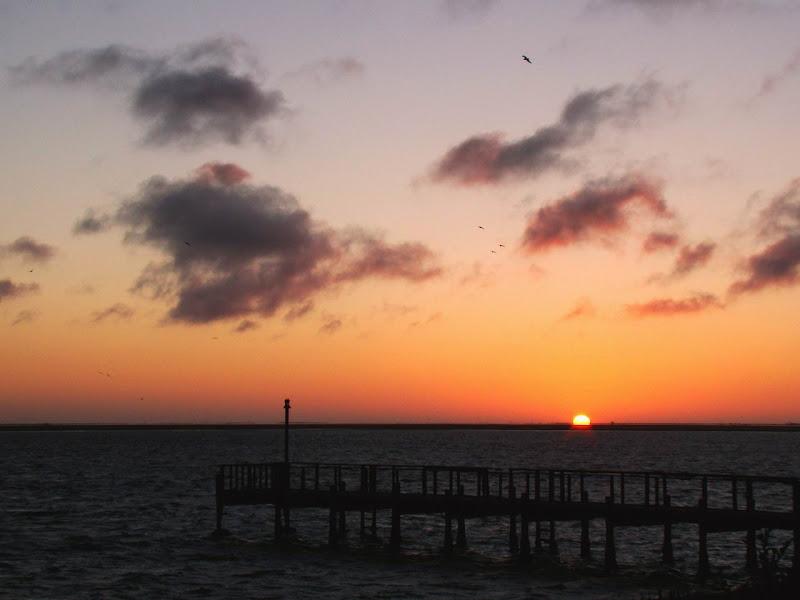 Photo: #115-Coucher de soleil sur Walvis Bay