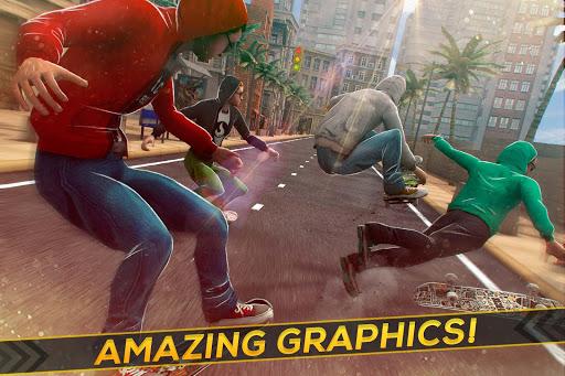Street Skateboard Freestyle - Trick Competition 1.6.2 screenshots 2