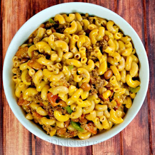 Slow Cooker Chili Mac n Cheese