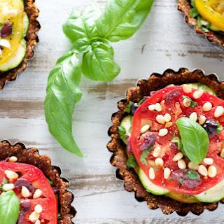 Sun-Dried Tomato and Zucchini Tarts [Vegan, Raw, Gluten-Free] Recipe
