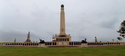 Photo: Hoe Hill Naval Memorial in Plymouth