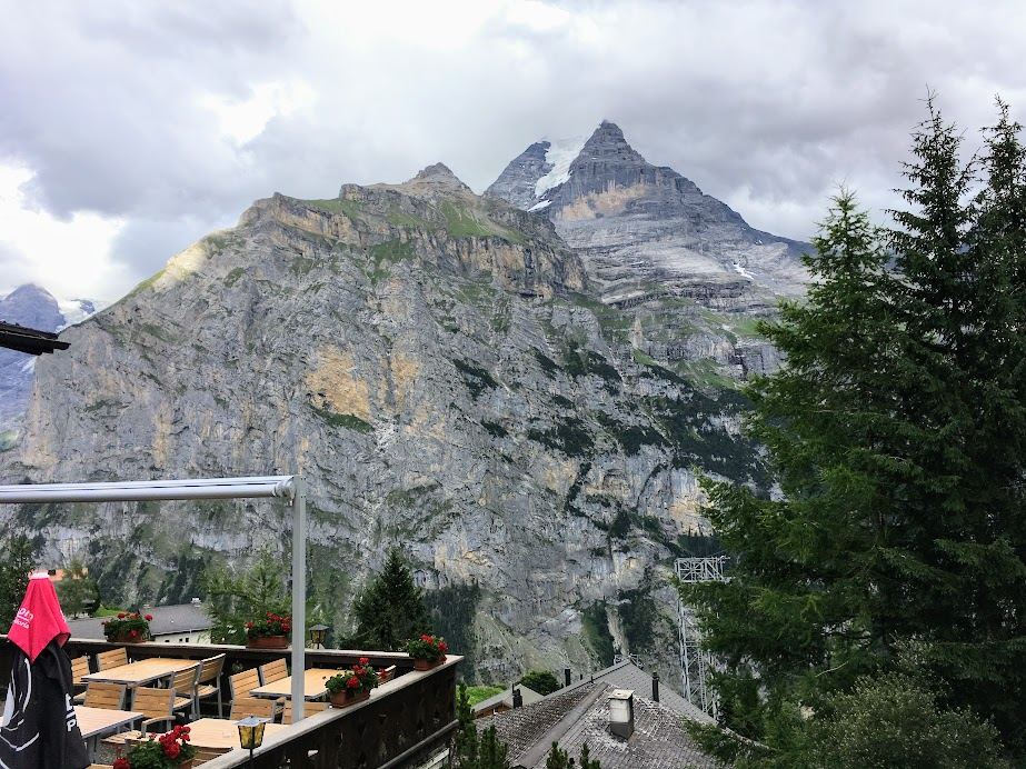 The only time we got to see Eiger