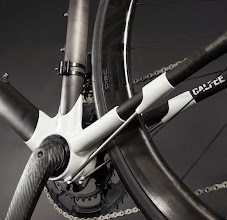 Photo: Calfee Manta Pro BB and Strut Detail