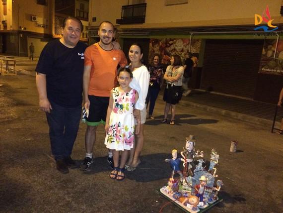 "La ""Cremà"" de la maqueta pone punto final a la fiesta de San Juan"