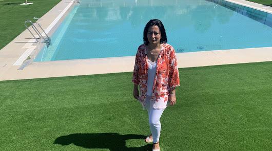 """La piscina almeriense pública e """"inspirada en resorts de lujo"""""""