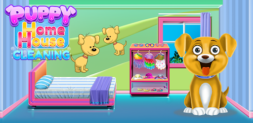 Puppy Home House Cleaning captures d'écran