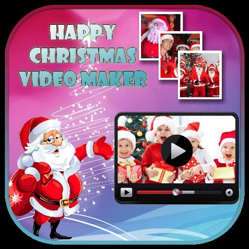 merry christmas video maker 2018