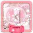 Pink Pearl Love Teme icon