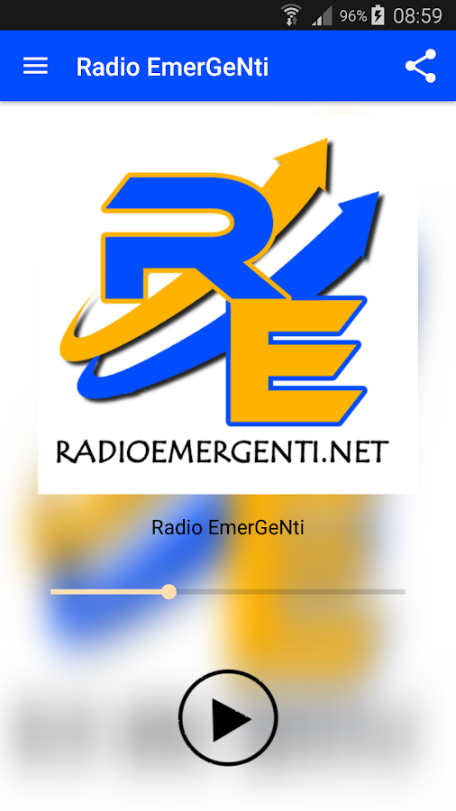 Radio EmerGeNti- screenshot