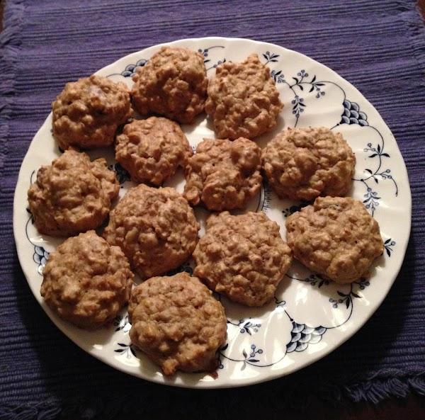 Applesauce Granola Cookies Recipe