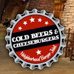 Logo for Cold Beers & Cheeseburgers Grayhawk